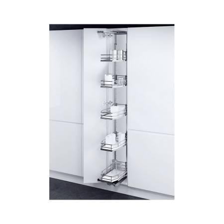 BỘ KHAY TỦ ĐỨNG 5 TẦNG TAL GATE 400/1900-200MM_ PREMEA WHITE